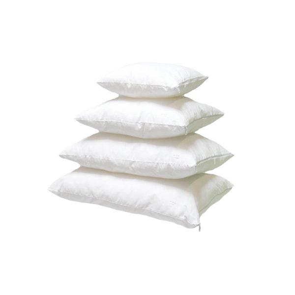baumwolle kissen inlett wei 40 x 40 cm. Black Bedroom Furniture Sets. Home Design Ideas