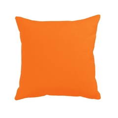 LNOR Leinen-Optik Kissenbezug RV Orange 35 x 35 cm